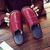 Cwypxl Zapatillas de Estar por casa Mujer Invierno Cerradas