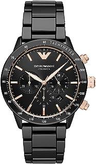 Emporio Armani Gents Wrist Watch, Black AR70002