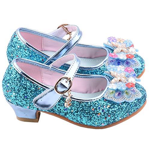 JERFER Säugling Kinder Baby Mädchen Perle Kristall Bling Bowknot Single Prinzessin Schuhe Sandalen A584