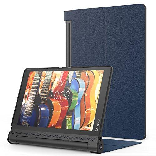 MoKo Lenovo Yoga Tab3 Plus 10.1 Funda - Premium Ultra Ligera Lightweight Shell Cover Case para Lenovo Yoga Tab 3 Plus (YT-X703F) 10.1 Pulgadas 2016 Tableta, Índigo
