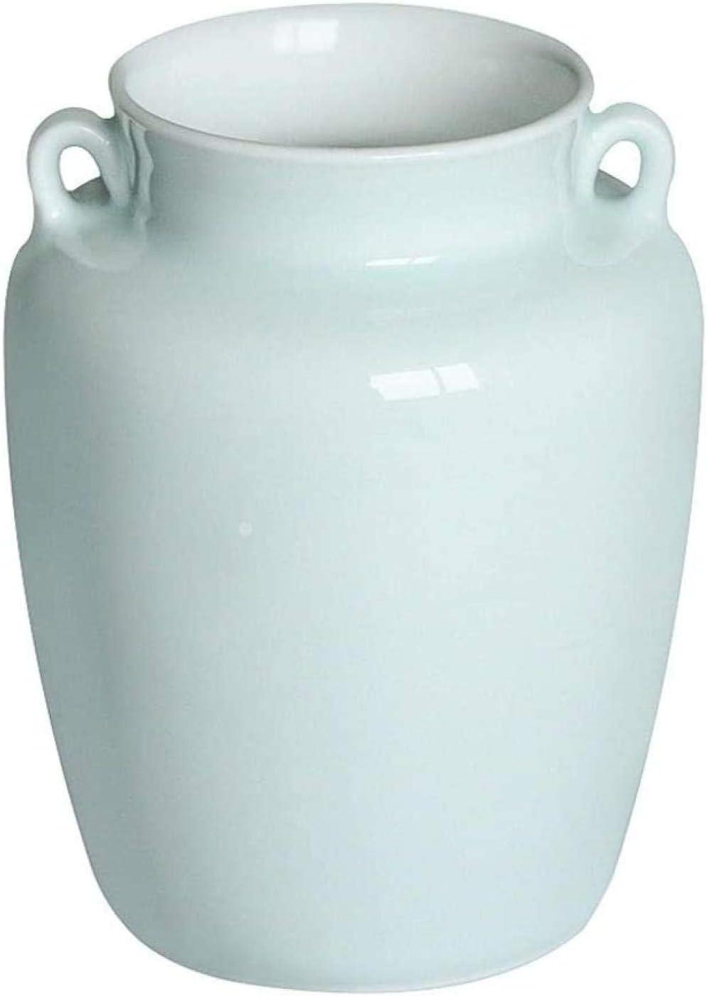 Statues Vases Binaural Ceramic Max 86% OFF Vase R Living Home Ranking TOP6 Elegant Office