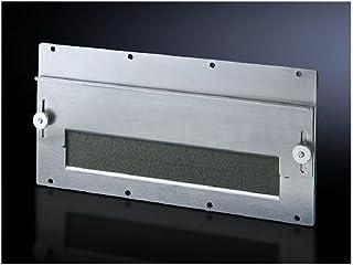 Rittal TS 8609.170 RITT Modulplatte f.Kabeldurchuehrung Stahlblech 2mm verzinkt 1 Ausbruch, Grau