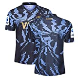 MRRTIME Maillot Rugby Homme pour Jaguares, 18/19/20/21 Saison Edition Marine, Polo Edition Hero T-Shirt Rugby, Maillot Rugby Supporters Domicile et Extérieur 20 away-3XL