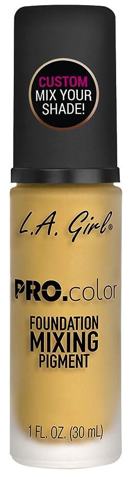 ファシズム予報イースターL.A. GIRL Pro Color Foundation Mixing Pigment - Yellow (並行輸入品)