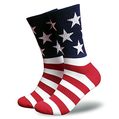 American Flag Socks for Men or Women