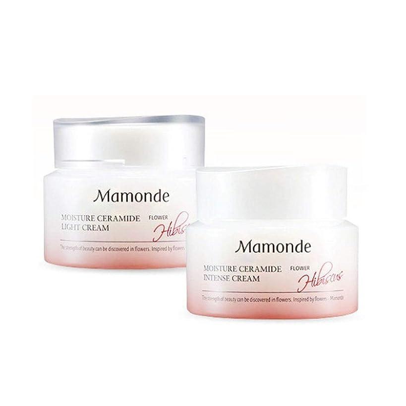 いま反対添加マモンドモイスチャーセラミドインテンスクリーム50mlx2本セット韓国コスメ、Mamonde Moisture Ceramide Intense Cream 50ml x 2ea Set Korean Cosmetics [並行輸入品]