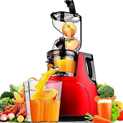 Mini Blender Slow Juicer Machine, para frutas enteras y verduras, exprimidor de prensa de frío...