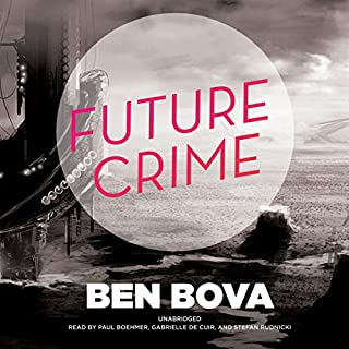 Future Crime audiobook cover art