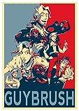 Instabuy Poster Monkey Island Propaganda Guybrush - A3