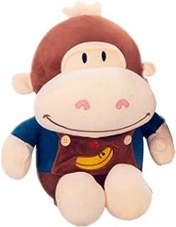 NC56 Soft Toys Banana Monkey Pillow Plush Toy Little Monkey Doll 30Cm Blue