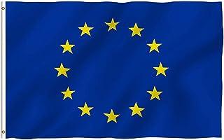 Haobase - Bandera de la Unión Europea (90 x 150 cm)