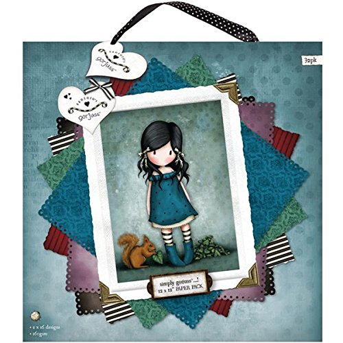 Gorjuss GOR 160101 - Papel multicolor (32 unidades)
