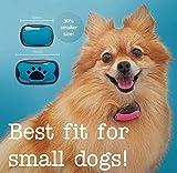 The Woof Whisperer Kleines Anti-Bell-Hundehalsband, stoppt Bellen, keine Erschütterung, Vibration, Geräusche, Trainingshalsband, menschlich und sicher, automatisches Anti-Bellen-Abschreckungsgerät