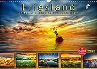 Friesland, verzauberte Landschaft an der Nordsee (Wandkalender 2022 DIN A3 quer): Peter Roder praesentiert eine Auswahl seiner stimmungsvollen Traumbilder aus Friesland. (Geburtstagskalender, 14 Seiten )