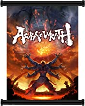 Asura's Wrath Video Game Fabric Wall Scroll Poster (32