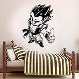 zqyjhkou Dragon Ball Decal Sticker para Ventana del Camión del Coche Etiqueta de Vinilo Personalizado Inicio Deco Murales Impermeables Lz27 57x74 cm