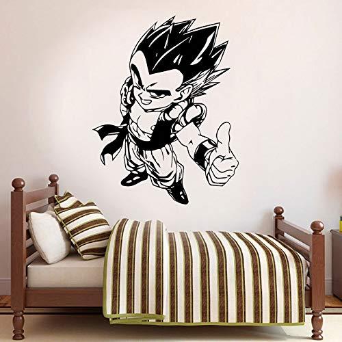 mlpnko Dragon Ball Aufkleber Auto LKW Benutzerdefinierte Vinyl Aufkleber Home Decoration Wasserdicht Mural63X67cm