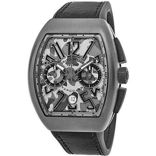 Franck Muller uomo Vanguard grigio pelle Band orologio automatico...