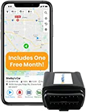 MOTOsafety OBD GPS Car Tracker, Hidden Vehicle Tracker and Monitoring System with Real Time Location GPS Reports, For Auto, Adults, Fleet, Parents, Teen, Elderly, 4G with Phone App, ONE MONTH INCLUDED