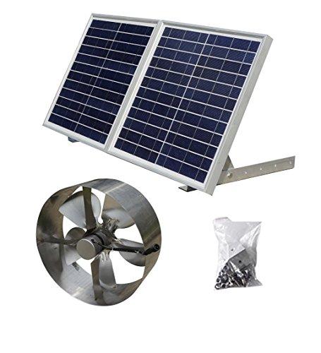 Dchouse 25W solaire grenier Vent...