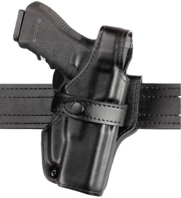 Safariland 070 Level III Retention Duty Holster MidRide Black High Gloss Right Hand Glock 20 21 07038391