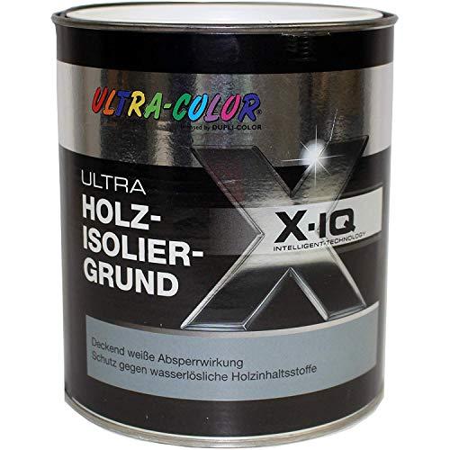 2 x 2 l Ultra Color ULTRA Isoliergrund Holzisoliergrund Absperrfunktion Weiß 4 Liter