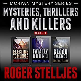 Mysteries, Thrillers and Killers: Crime Thriller Box Set audiobook cover art