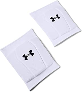 Under Armour Strive 2.0 Volleyball Knee Pad, White (100)/ Black
