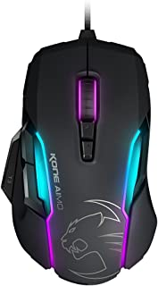 ROCCAT Kone AIMO-RGBA Smart Customization Gaming Mouse,black,AS Packaging(正規保証品) ROC-11-815-BK-AS