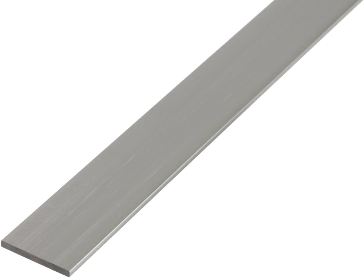 1000 x 30 x 2 mm selbstklebend GAH-Alberts 433659 Flachstange silberfarbig eloxiert Aluminium