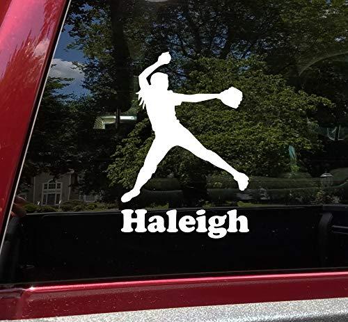 softball window decals - 9