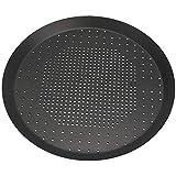UUME Non Stick Oven Crispy Crust Pizza Pan Aluminum Alloy with Holes Round Shape Crispy Crust Pizza...