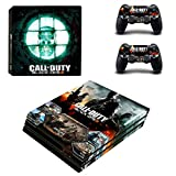Call of Duty / Infinite Warfare Ps4 Pro Sticker, Full Body Vinyl Skin Decal Cover for Playstation 4 Console Controller Remake