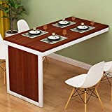 Office Supplies Accessories Wall Mounted Folding Table Saving Space Foldable Kitchen Dining Room Computer Table Invisible Wall Table Home Office Workbench Desk