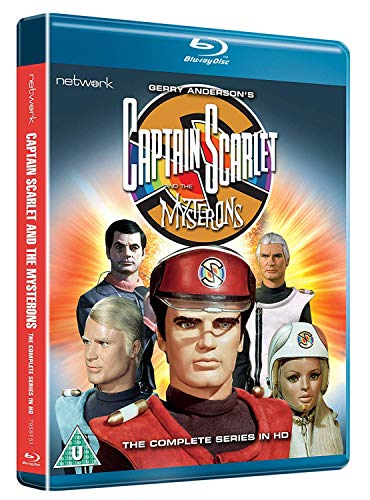 Captain Scarlet and the Mysterons: The Complete Series [Blu-ray] [Reino Unido]
