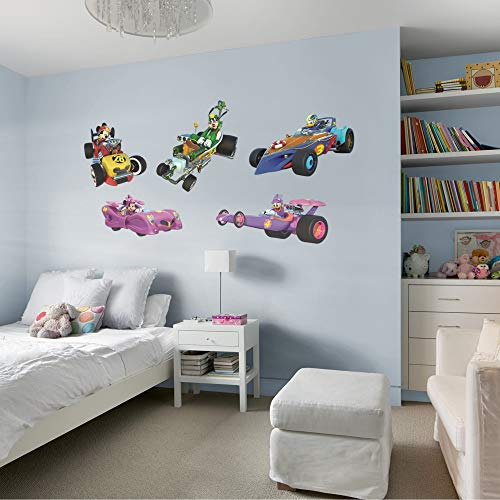 FATHEAD Mickey and The Roadster Racers: Collection-X-Large Officially Licensed Disney Removable Wall Decal