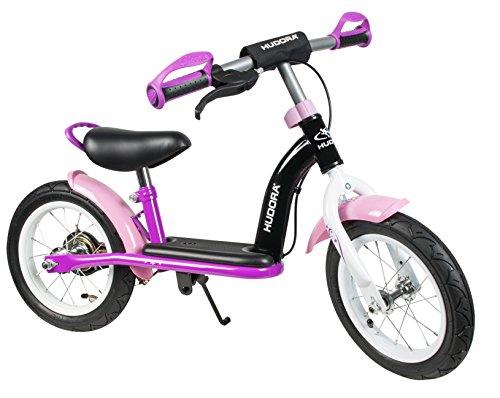 HUDORA Laufrad Cruiser Girl, 12 Zoll - Luftbereifung - pink - 10067