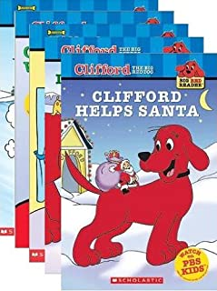 Clifford's Winter Holiday Readers