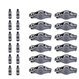 Dasbecan 12 Pcs Rocker Arm and Lifter Kit Compatible With ChrysIer 200 300 Dodge Ram 1500 Challenger Charger Journey Jeep Grand Cherokee Wrangler 3.6L 5184296AH 5184332AA
