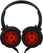 Lightweight Degree Sharingan by Alpha Element Over-Ear Strong Sound Stereo Headphone Rotation Axis Design Wired Headset