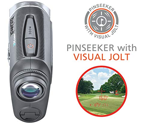 Bushnell Pro XE Golf Laser Rangefinder with Bushnell & PlayBetter Pitchfix Divot Tool   201950   BITE Magnetic Cart Mount, 500+ Yards Accuracy, Slope + Elements, Red OLED   Official Bundle