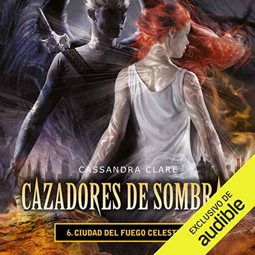Ciudad del fuego celestial audiobook cover art