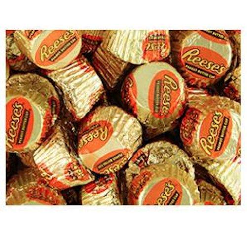 Gold & Orange Mini Reese's Peanut Butter Cups Candy 5LB Bag