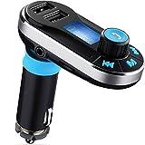 I-Sonite - Adaptador de Radio con Reproductor de música, Cargador de Coche Dual USB, Compatible con Tarjeta SD/TF, Control de música, Llamadas Manos Libres para BQ Tesla 2 W8