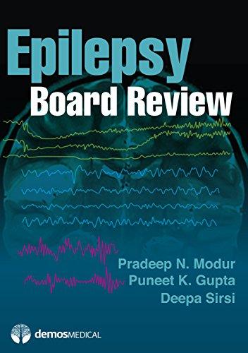 Modur, P:  Epilepsy Board Review