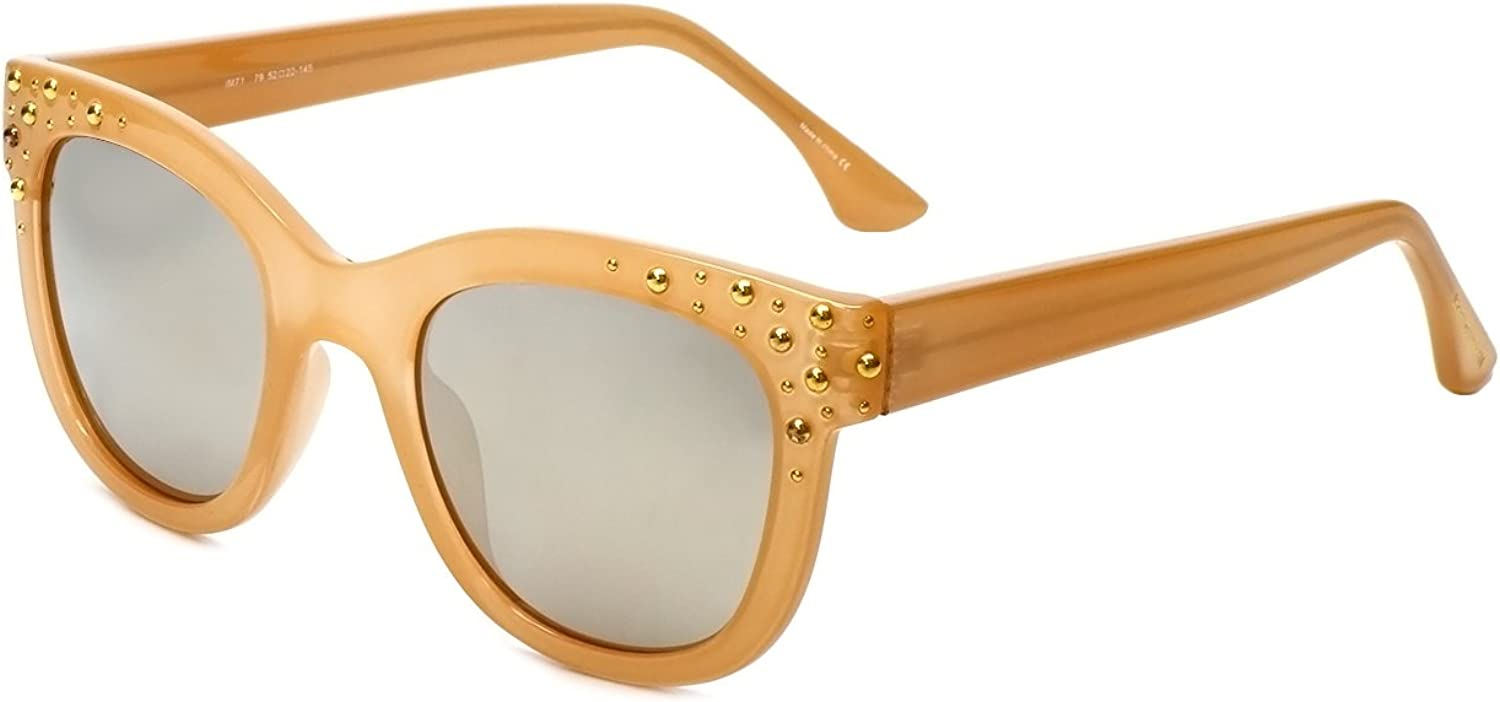 Isaac Mizrahi Houston Mall Designer Sale Special Price Sunglasses IM71-79 B Butterscotch in with