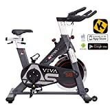 AsVIVA Indoor Cycle S8 Pro Speed-Bike mit Bluetooth App Kontrolle - Fitnessbike