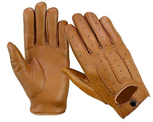 guanti pelle estivi Guanti da guida da uomo