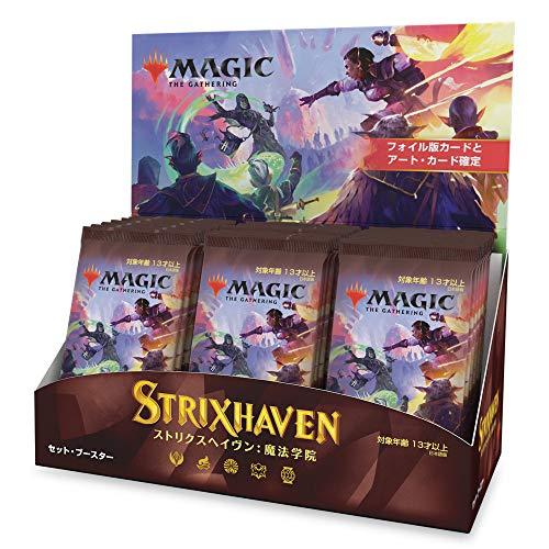 Magic The Gathering Strixhaven-Caja de Refuerzo Japonesa (30 Paquetes) (Wizards of The Coast C88351400)