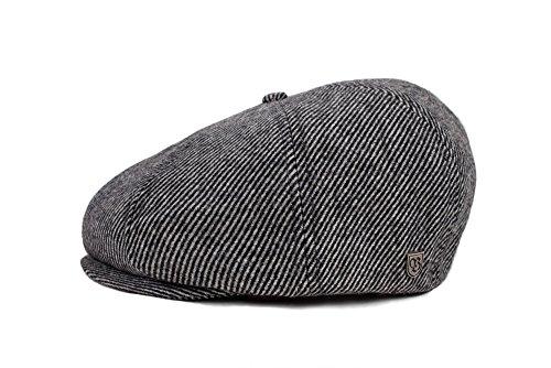 BRIXTON Damen Brood SNAP Cap Headwear, Black/Bone, S